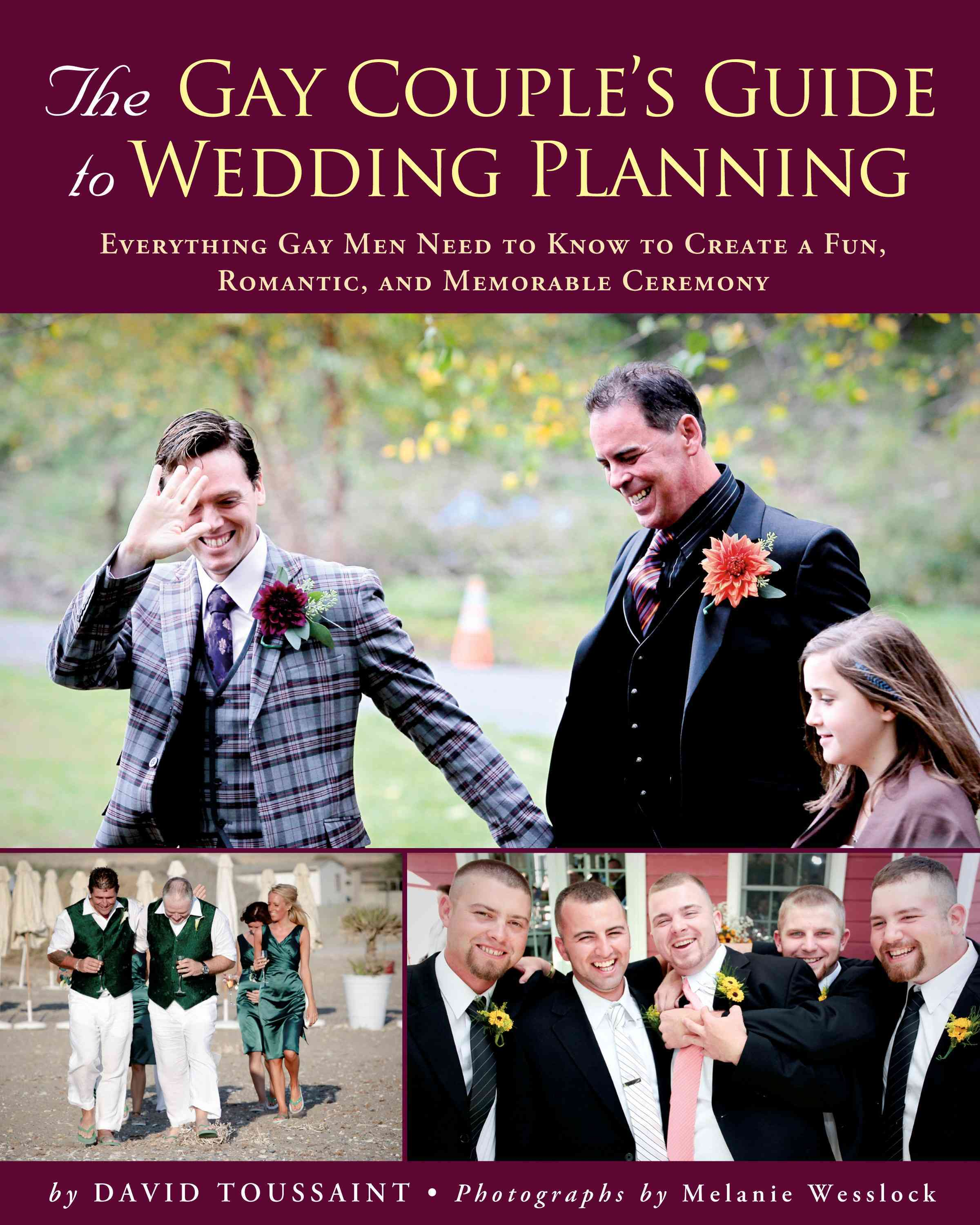 Gay Couple's Guide to Wedding Planning By Toussaint, David